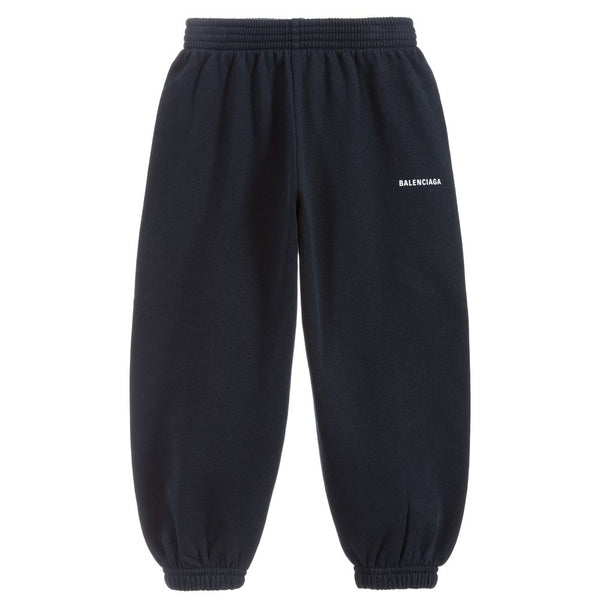 Boys & Girls Navy Cotton Trousers