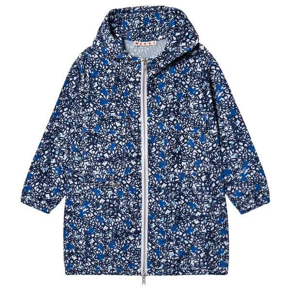 Girls Blue Zip-up Jacket