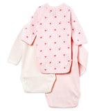 Baby Boys Rice & Light Pink Cotton Sets
