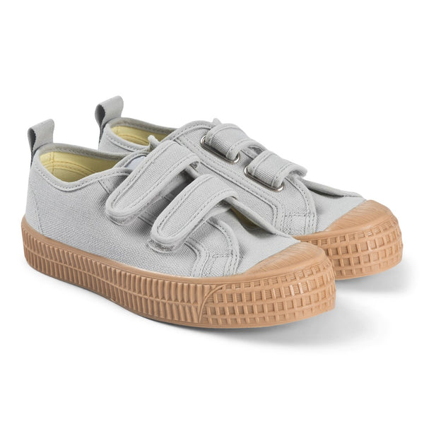 Boys & Girls Grey Canvas Shoes