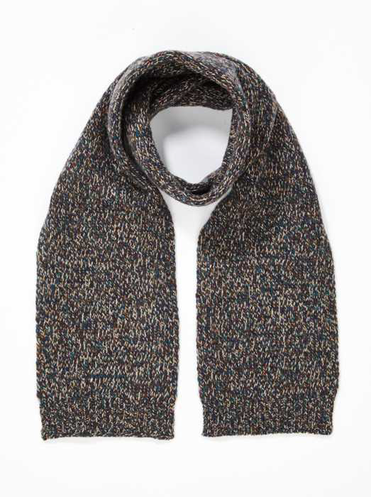 Boys & Girls Grey Wool Scarf