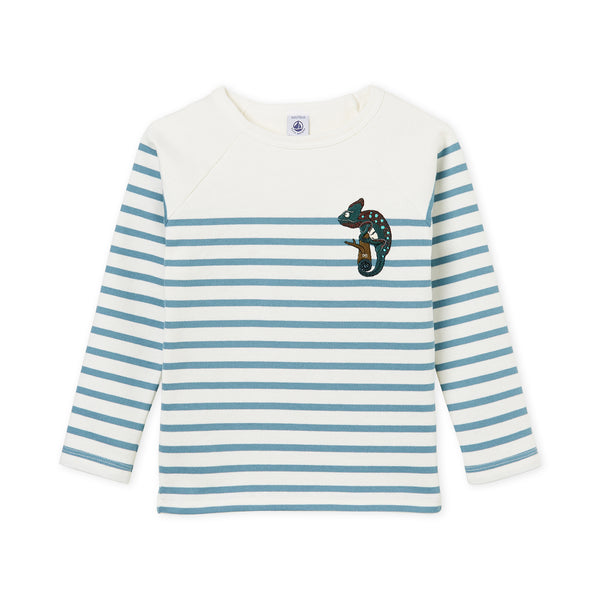 Boys & Girls Blue Stripes T-shirt