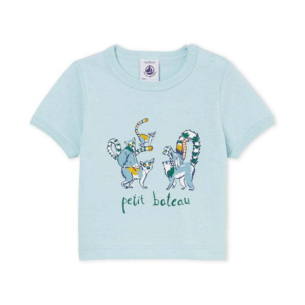 Baby Boys Light Blue T-shirt