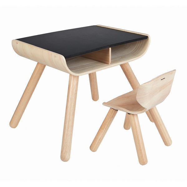 Table And Black Chair