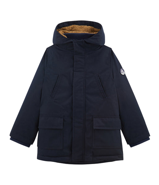 Boys Blue Hooded Jacket