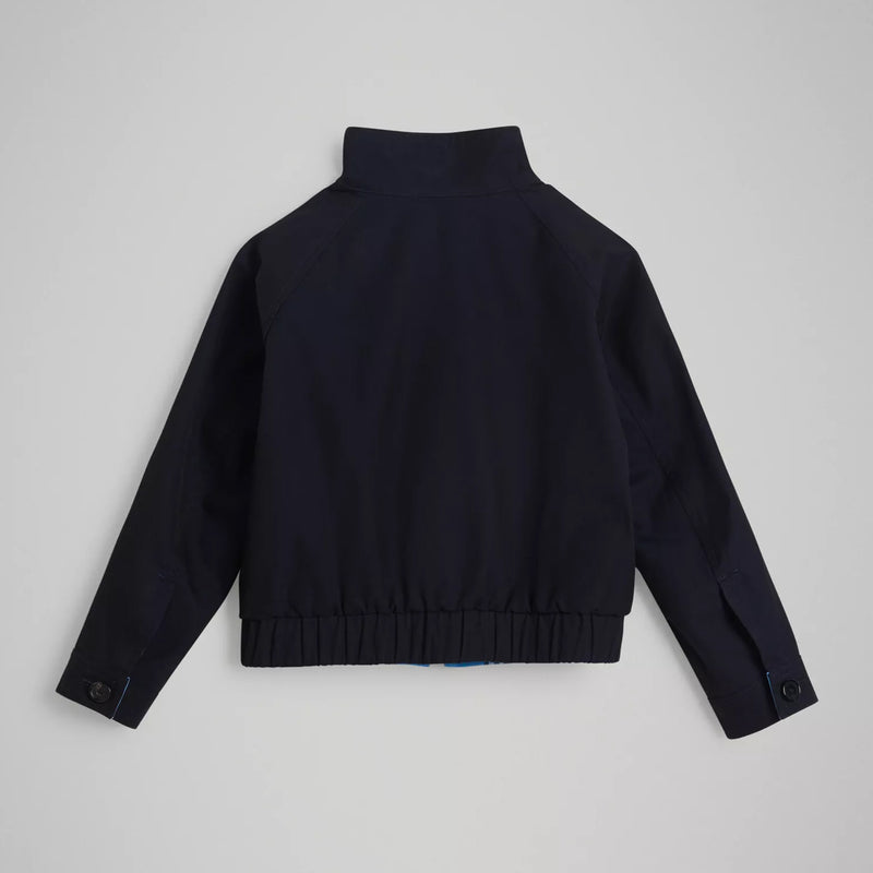 Boys Brilliant Navy Cotton Jacket