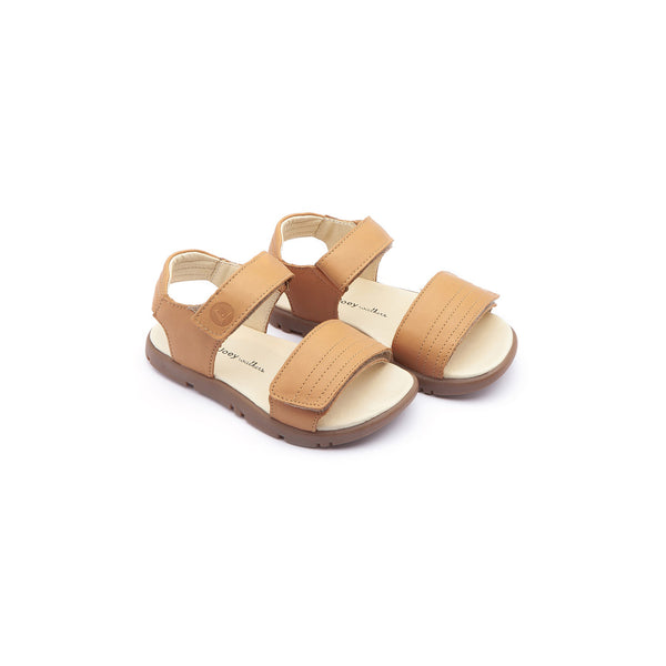Baby Boys Yellow Leather Sandals