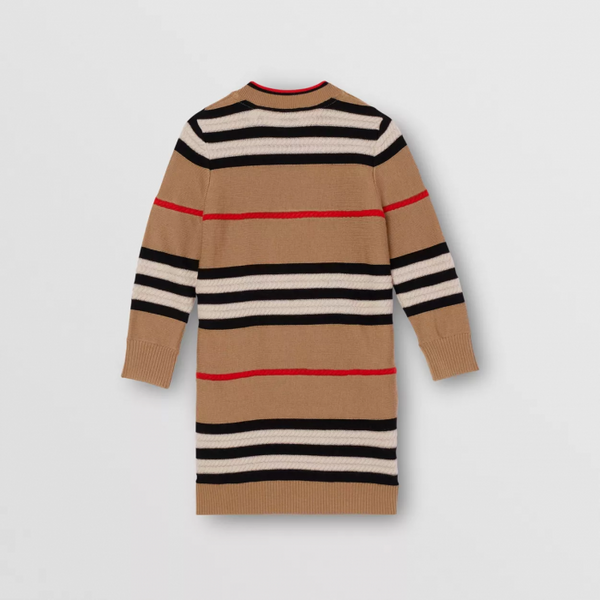 Girls Archive Beige Knit Dress