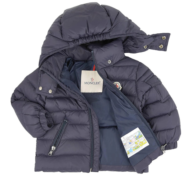 "Baby Boys & Girls Navy ""Jules"" Padded Down Jacket"