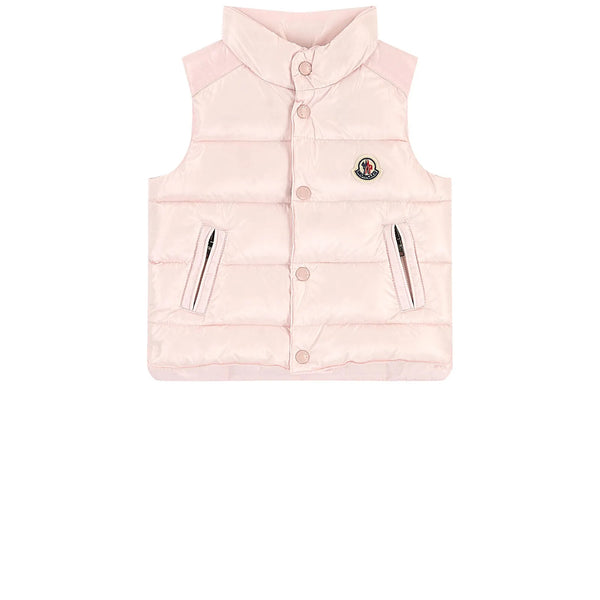 "Baby Boys & Girls Light Pink ""Bernard"" Padded Down Vest"