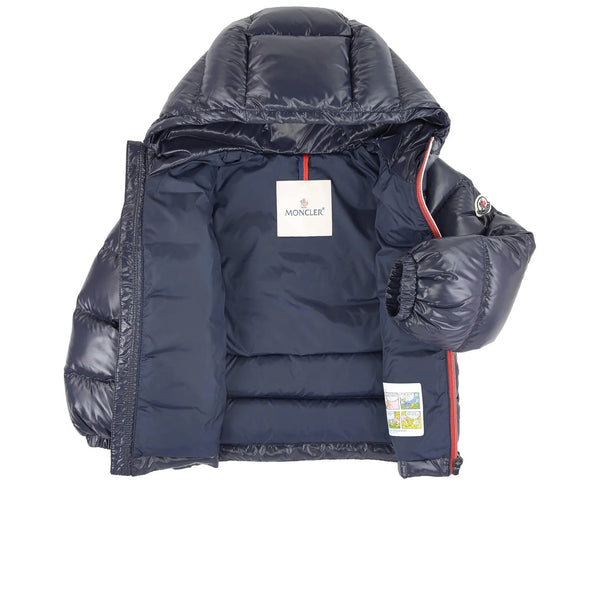 "Baby Boys Navy ""NEW AUBERT"" Padded Down Jacket"