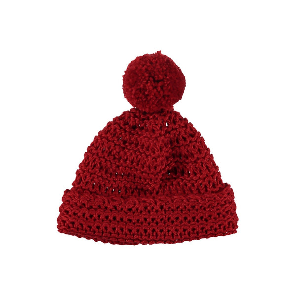 Girls Parrot Red Acrilico Sparky Hat