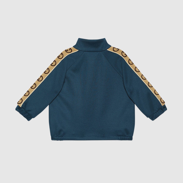 Baby Boys & Girls Prussian Blue Sweatshirt