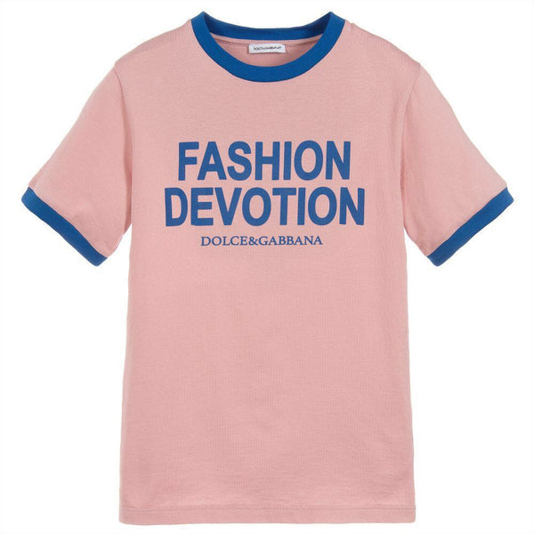 Girls Lavender Cotton T-shirt