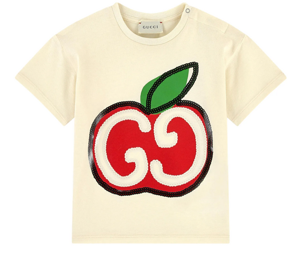 Baby Boys & Girls Sunkissed Apple Cotton T-Shirt
