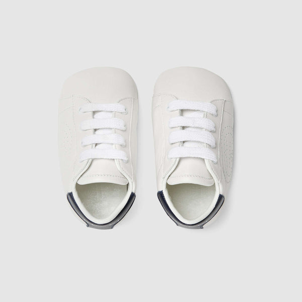 Baby Boys & Girls Great White GG Lamb Skin Sneakers