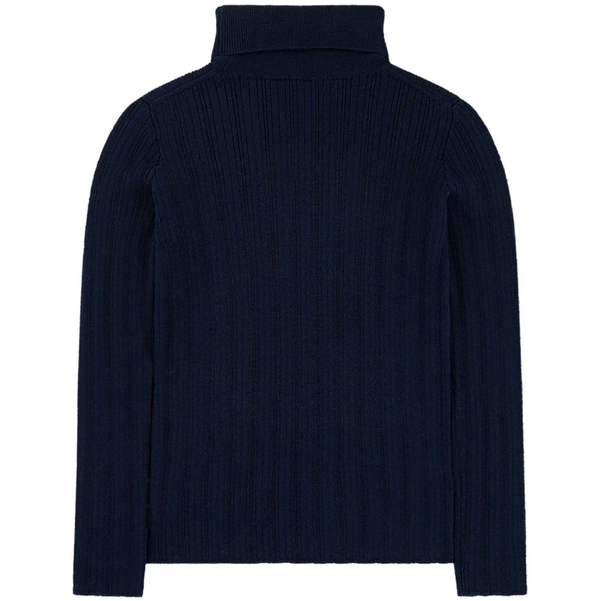 Boys & Girls Oltremare GG Knit Wool Turtleneck
