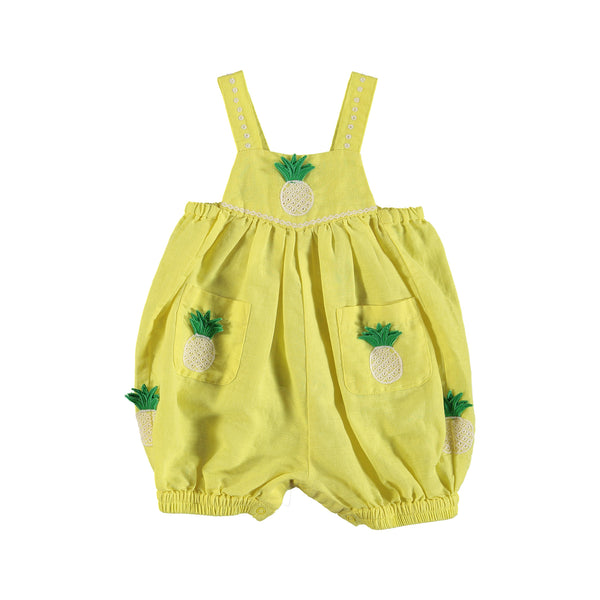 Baby Girls Yellow Rompers