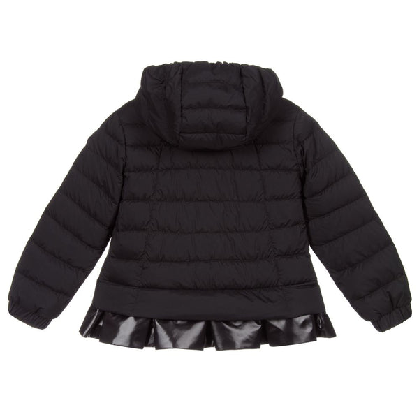 Girls Black 'TABETHA' Padded Down Jacket