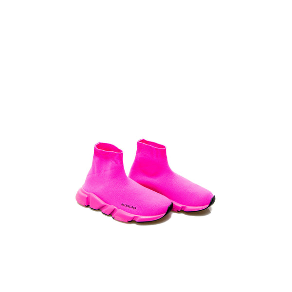 Boys & Girls Pink Logo Shoes