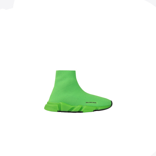 Boys & Girls Fluo Green Shoes