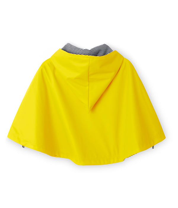 Boys Yellow Hooded Cape