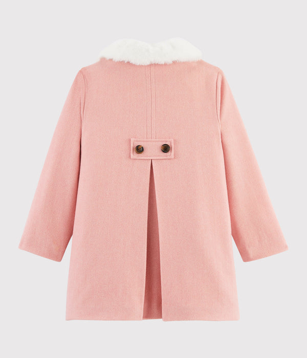 Girls Light Pink Coat