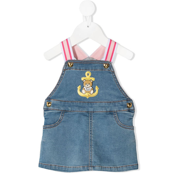 Baby Girls Blue Denim Dress