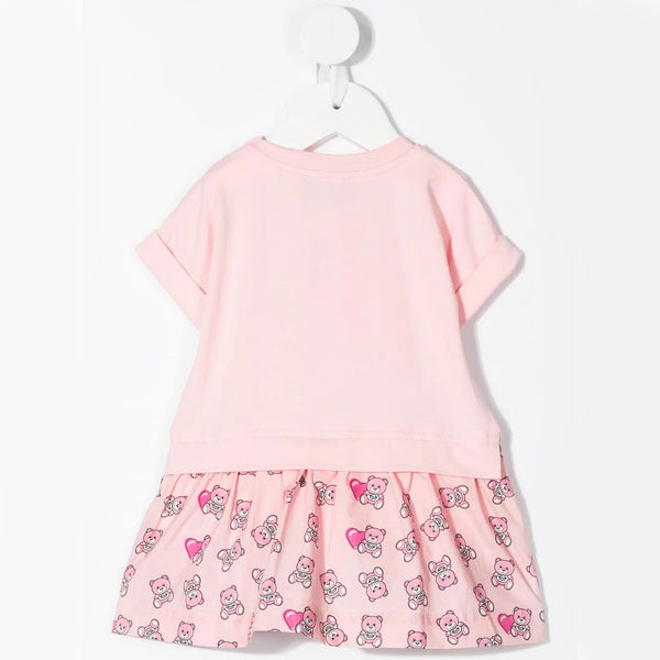 Baby Girls Pink Toy Cotton Dress