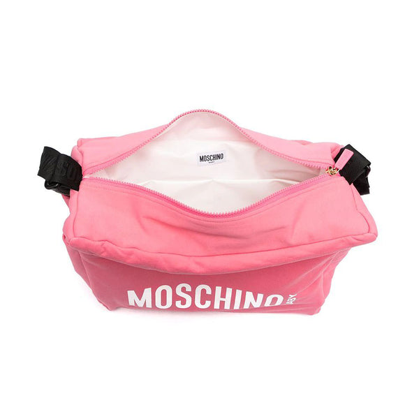Girls Pink Logo Bag