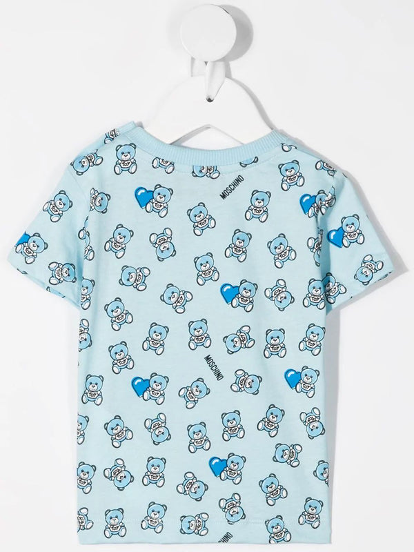 Baby Boys & Girls Mint Cotton T-Shirt