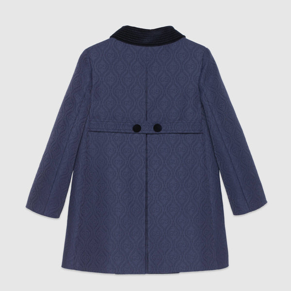 Girls Dark Blue Coat