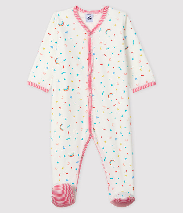 Baby Girls Multicolor Babysuit