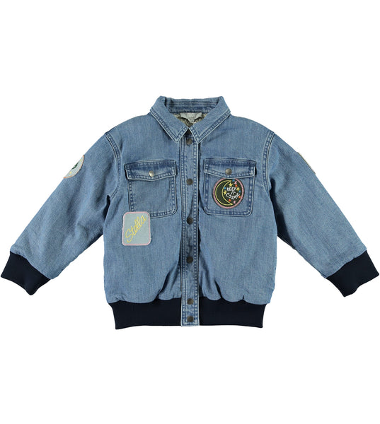 Girls Blue Denim Jacket