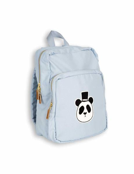 Boys & Girls Light Blue Panda Printed Backpack