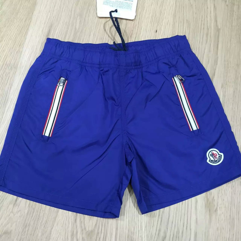 Boys Blue Beach Wear Logo Short - CÉMAROSE | Children's Fashion Store