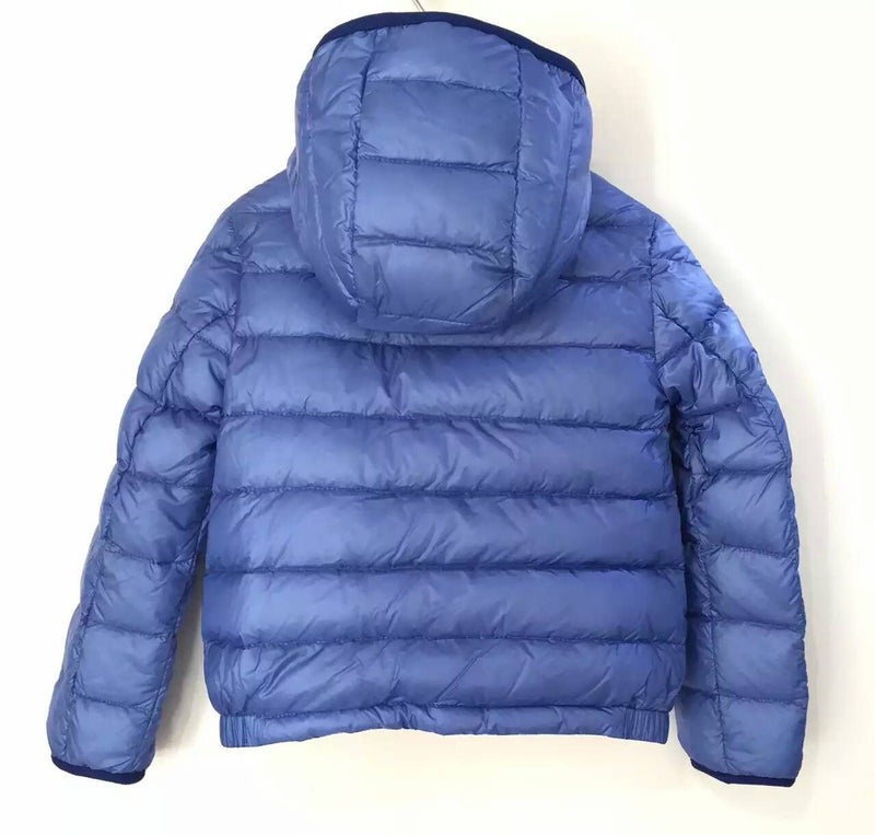 Boys Blue Down Padded Hooded 'Athenes' Jacket With Hidden Pocket - CÉMAROSE | Children's Fashion Store - 2