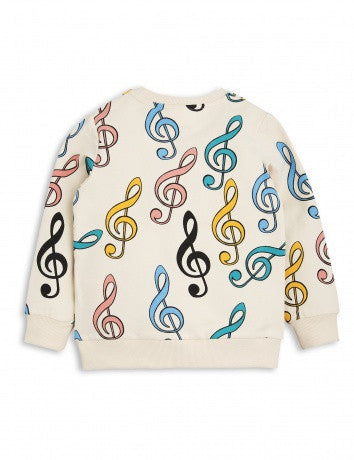 Boys & Girls Ivory Organic Cotton Sweatshirt