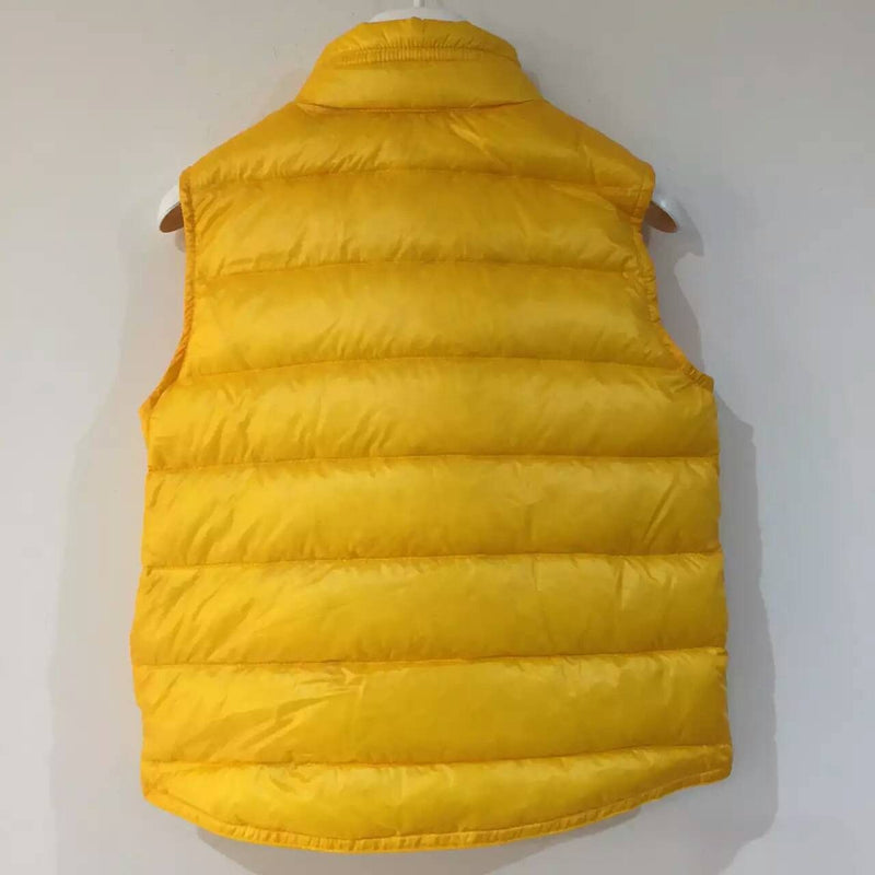 Boys Yellow Down Padded 'Gui' Gilet - CÉMAROSE | Children's Fashion Store - 2