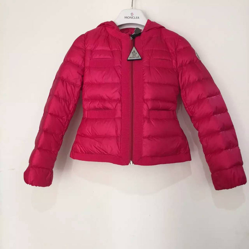 Girls Rose Red Down Padded Hooded 'Alose' Jacket - CÉMAROSE | Children's Fashion Store - 1