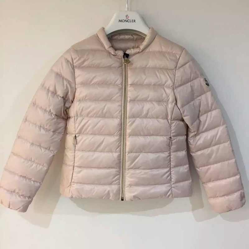 Girls Light Pink Hidden Pocket Down Padded 'Ambrine' Jacket - CÉMAROSE | Children's Fashion Store - 1