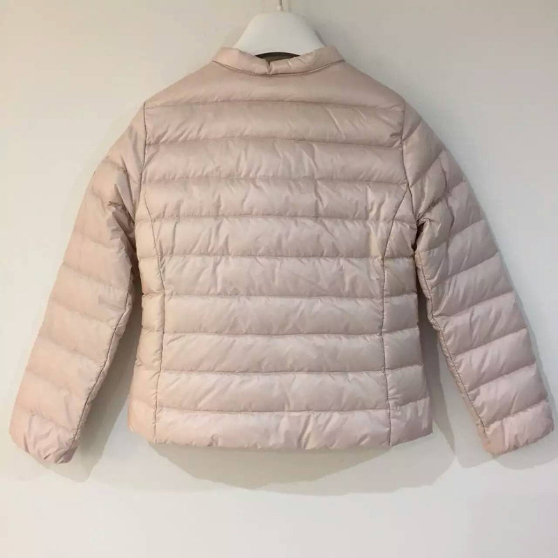 Girls Light Pink Hidden Pocket Down Padded 'Ambrine' Jacket - CÉMAROSE | Children's Fashion Store - 2