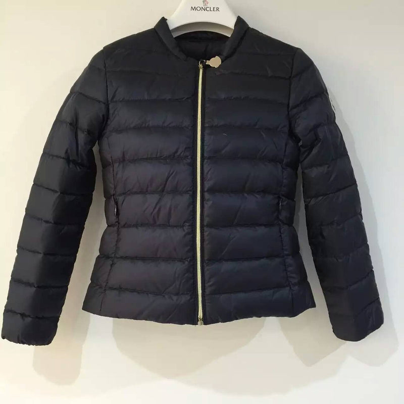 Girls Navy Blue Hidden Pocket Down Padded  'Ambrine' Jacket - CÉMAROSE | Children's Fashion Store - 1