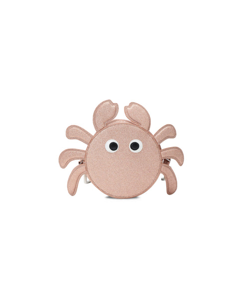Girls Pink Crab Shoulder Bag (16cm)
