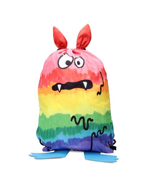 Boys Multicolor Monster Backpack