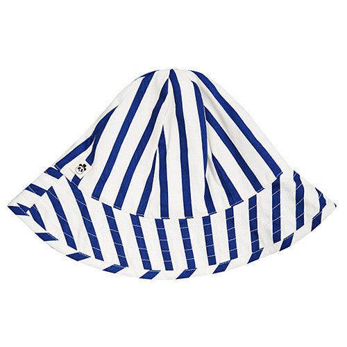 Blue & White Striped Sun Hat