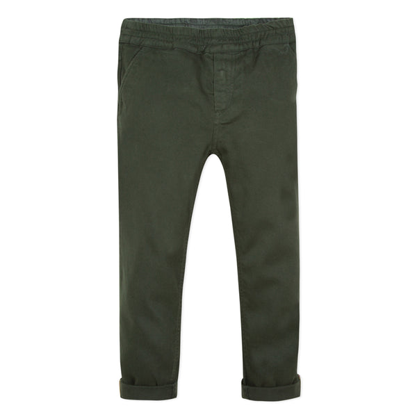 Boys Rosin Khaki Cotton Trousers