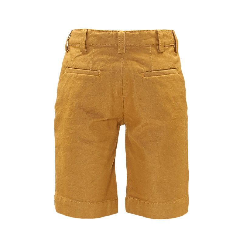 Boys Yellow Cotton Jersey Short - CÉMAROSE | Children's Fashion Store - 2