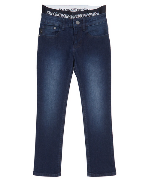 Boys Blue Denim Trousers