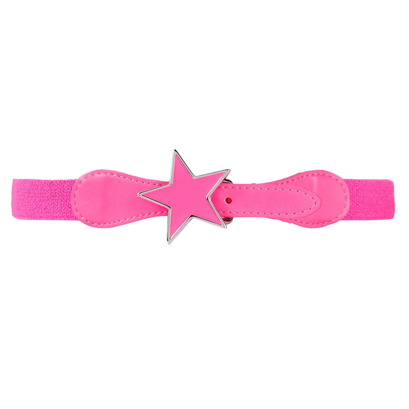Girls Light Pink Belt With Star Trims - CÉMAROSE | Children's Fashion Store - 2